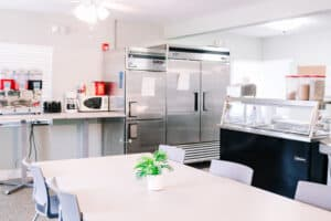 luxury drug rehab catered meals
