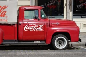 coca cola truck - cocaine used to be in coca cola